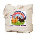 All American Breeds Tote Bag