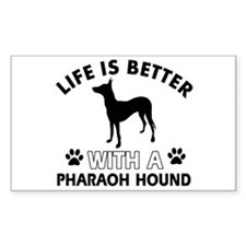 Life is better with Pharaoh Hound Decal