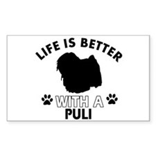 Life is better with Puli Decal