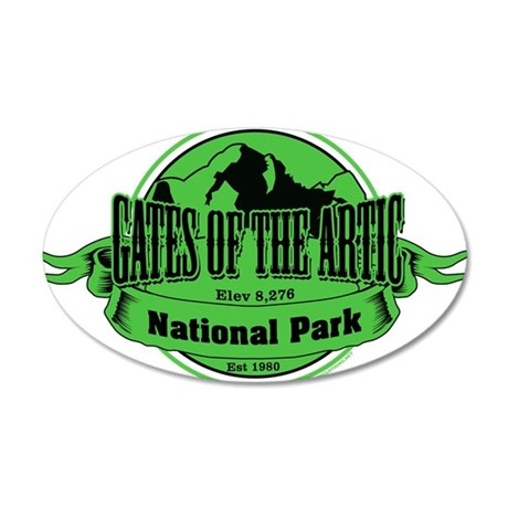 gates of the artic 3 Wall Decal
