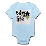 Biker for life Infant Bodysuit