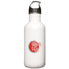 World Lionfish Hunters Association Logo Water Bott