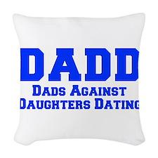 DADD-fresh-blue Woven Throw Pillow