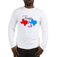 Turning Texas Red to Blue Long Sleeve T-Shirt