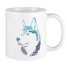 Husky Words Mug