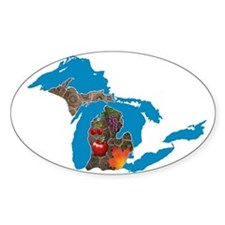 Great Lakes Michigan Harvest Decal
