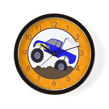 Monster Truck Clock Wall Clock