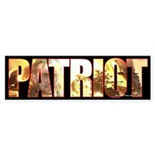 Patriot Bumper Bumper Sticker