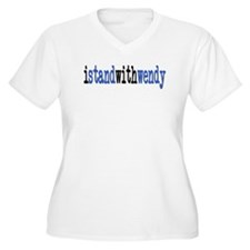 I Stand With Wendy typewriter T-Shirt