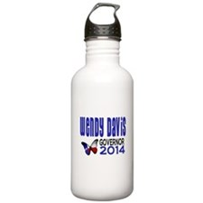 Wendy Davis for Texas Governor 2014 Water Bottle