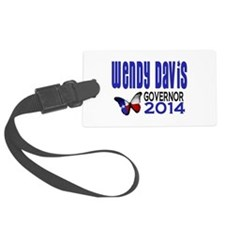Wendy Davis for Texas Governor 2014 Luggage Tag