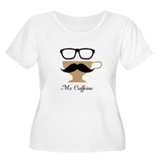 Mr. Caffeine Plus Size T-Shirt