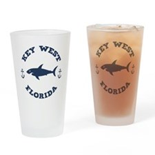Sharking Key West Drinking Glass