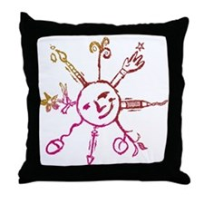 Creative Sunshine Throw Pillow