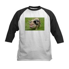 Little Spotty micro pig Baseball Jersey