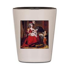 Lebrun: Marie Antoinette & children Shot Glass