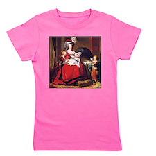 Lebrun: Marie Antoinette & children Girl's Tee