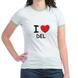 I love Del T