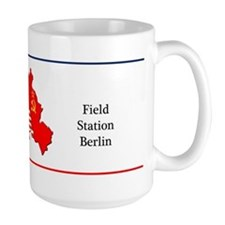 Field Station Berlin Large Coffee Mug