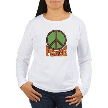 Peace Women's Long Sleeve T-Shirt