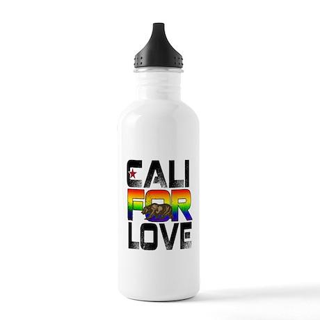 Cali For Love LGBT California Water Bottle