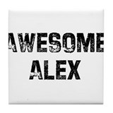 Awesome Alex Tile Coaster