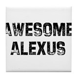 Awesome Alexus Tile Coaster
