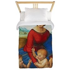 Raphael: Madonna in the Meadow Twin Duvet