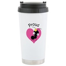 Proud Aunt Ant Ceramic Travel Mug