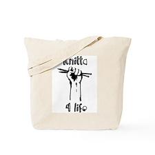 Knitta 4 Life Tote Bag