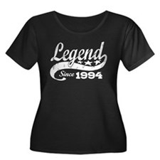 Legend Since 1994 Women's Plus Size Scoop Neck Dar