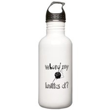 Where my Knittas at? Water Bottle