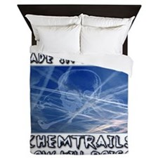 Chemtrails - Still Made in America Queen Duvet