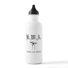 K.W.A knittaz wit attitude Water Bottle