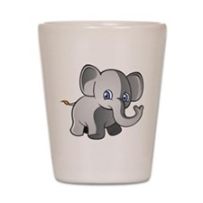 Baby Elephant 2 Shot Glass