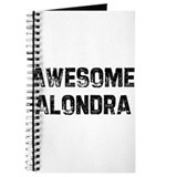Awesome Alondra Journal