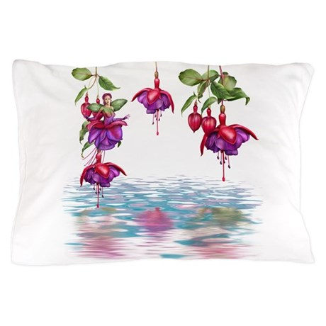 Flower Fuchsia Faerie Pillow Case
