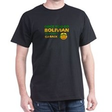 Bolivian smiley designs T-Shirt