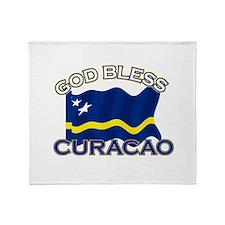 Patriotic Curacao designs Throw Blanket