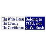 They Belong to You Bumper Sticker