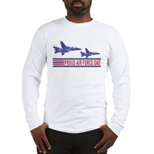 Proud Air Force Dad Long Sleeve T-Shirt