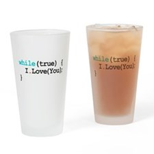 Programming Quote Drinking Glass