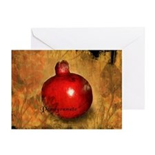 Botanical Pomegranate Greeting Cards (Pk of 20)