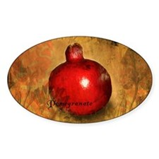 Botanical Pomegranate Decal