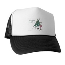 Stitching Dragon Trucker Hat