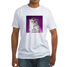 Not Amused kitty T-Shirt