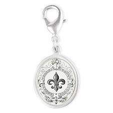 Vintage French Fleur de lis Charms