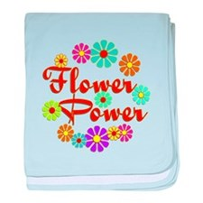 Flower Power Fun baby blanket