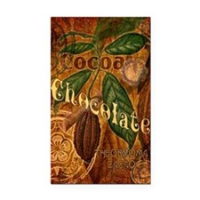 Chocolate Collage Rectangle Car Magnet