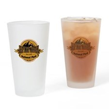 great smokey mountains 4 Drinking Glass